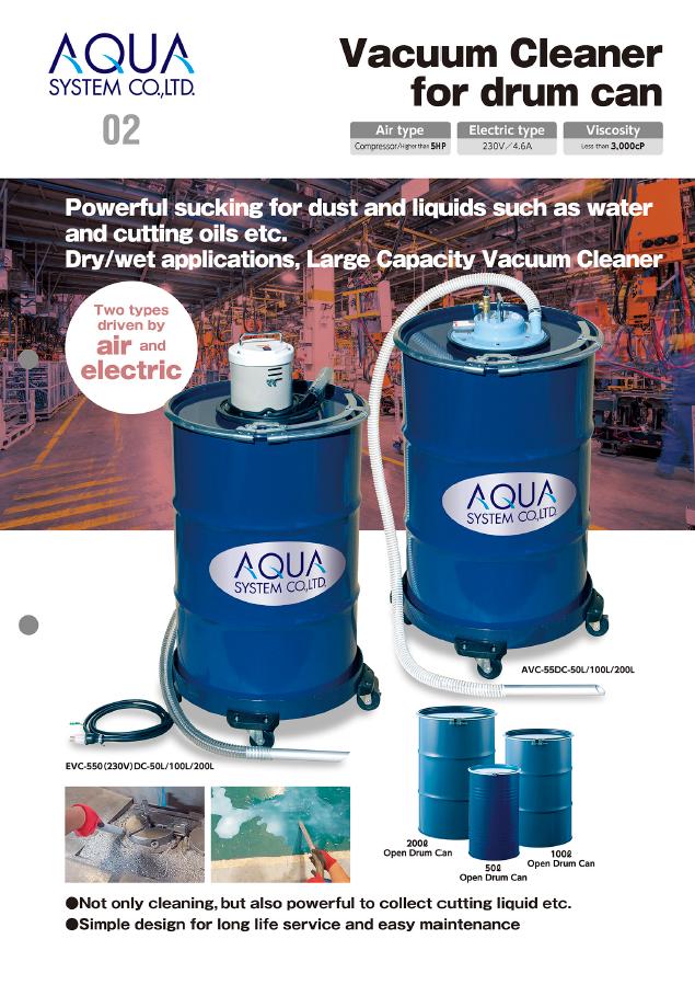 vacuum cleaner for drum flyer