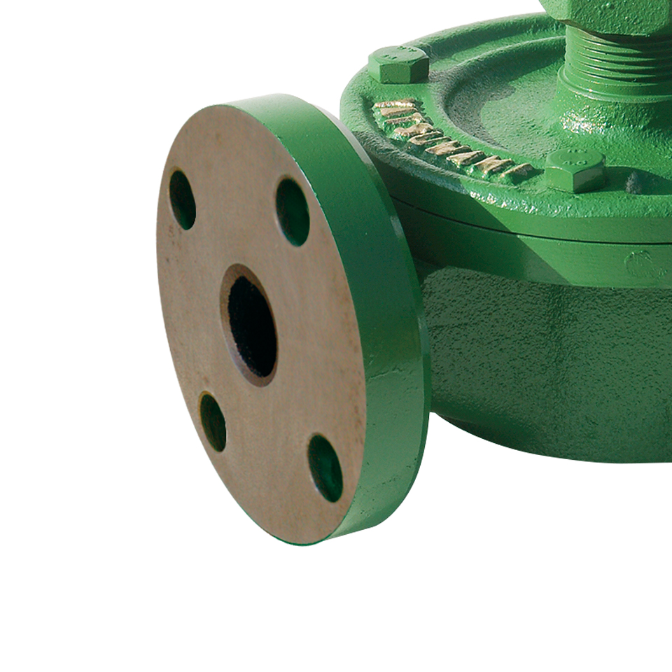 wing pump companion flange