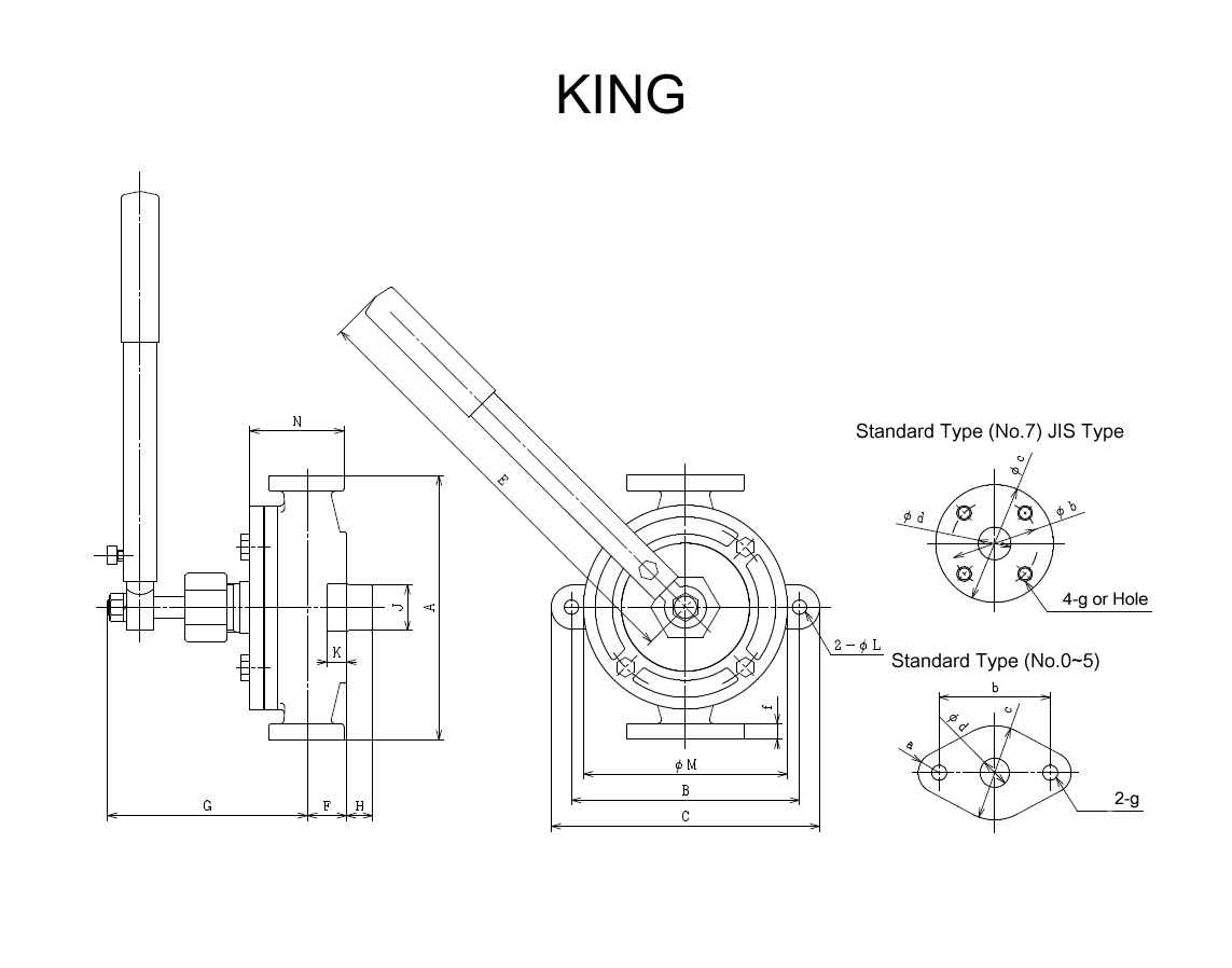 drawings for king series